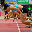 Linz Indoor Gugl Track and Field Meeting 2011 — Stock Photo #9070845