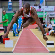 Linz Indoor Gugl Track and Field Meeting 2011 - Foto Stock