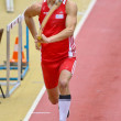 Stock Photo: Linz Indoor Gugl Track and Field Meeting 2011