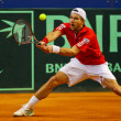 Tennis Davis Cup Austria vs. France - Stock Photo