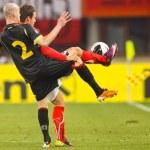 Постер, плакат: Austria vs Belgium