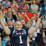 Football WC 2011: USA vs. Canada — Stock Photo #9071359