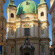 St. Peter's Cathedral in Vienna — Stock Photo