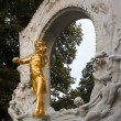 Johann Strauss monument - Stock Photo