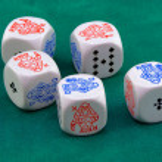 ������, ������: Poker dice