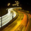 Highway traffic at night — Stock Photo #9073797