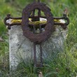 Old cross - Stock Photo