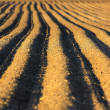 Ploughed soil - Stock Photo