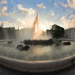 Fountain in Vienna — Stock Photo