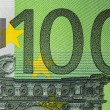 Hundred Euro bill — Stock Photo