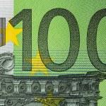 Hundred Euro bill — Stock Photo