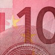 Ten Euro bill — Stock Photo