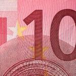 Ten Euro bill — Stock Photo