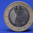One Euro coin — Stock Photo #9074306
