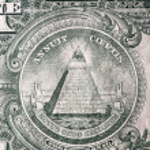 One dollar bill — Stock Photo