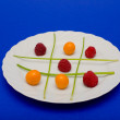 Fruit tic tac toe — Stock Photo #9074350