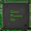Electronics - CPU - Stock Photo