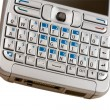 Mobile phone keyboard. — Stock Photo