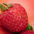 Macro shot of a strawberry — Stock Photo
