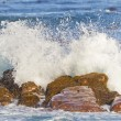 Stock Photo: Waves breaking at the Cape of Good Hope