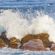 Waves breaking at the Cape of Good Hope - Stock Photo