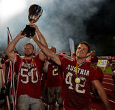 American Football B-European Championship 2009 — Foto Stock