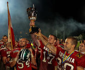 American Football B-European Championship 2009 — Stock Photo