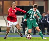 SK Rapid vs. Hapoel Tel Aviv — Stock Photo