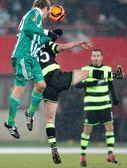 SK Rapid vs. Celtic Glasgow F.C. — Foto Stock