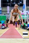 Linz Indoor Gugl Track and Field Meeting 2011 — Stock Photo
