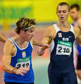 Indoor Track and Field Championship 2011 — Stock Photo