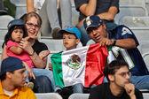 Football WC 2011: Germany vs. Mexico — Stock Photo