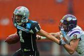 Raiders vs. Vikings — Stock Photo
