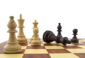Chess pieces — Foto de Stock