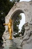 Johann Strauss monument — Stock Photo