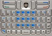 Mobile phone keyboard. — Stock Photo