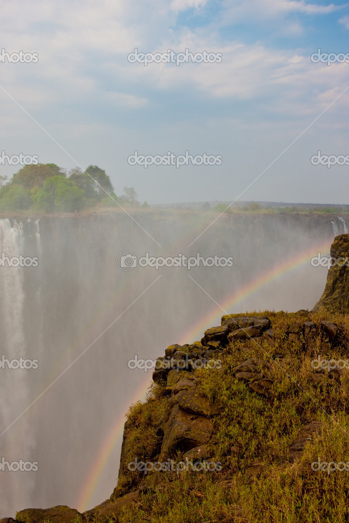 Victoria Falls in Zimbabwe. — Stock Photo #9074959