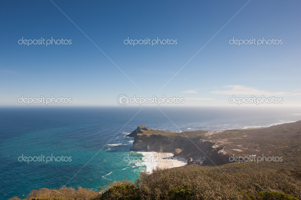 Coastline at the Cape of Good Hope in South Africa. — Stock Photo #9075362