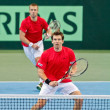 Davis Cup Austria vs. Russia - Stock Photo
