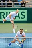 Davis Cup Austria vs. Russia — Stock Photo