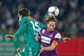 SK Rapid vs. Austria Wien — Stock Photo