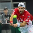 Stock Photo: Davis Cup Austrivs. Russia
