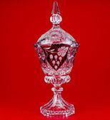 Kristall vase — Stockfoto