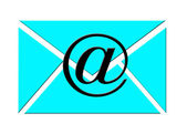 Email envelop — Stock Photo