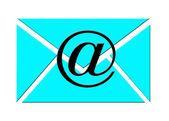 Obálka e-mailu — Stock fotografie