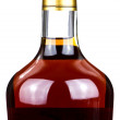 Stock Photo: Brandy bottle
