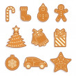 Christmas cookies — Stock Vector #9132110