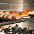 Greek barbeque — Stock Photo