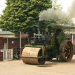 Stock Photo: Burrell Steam roller