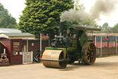 Burrell Steam roller — Stock Photo